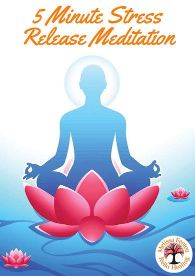 5 Minute Stress Release Meditation