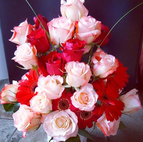 Rose arrangmenent