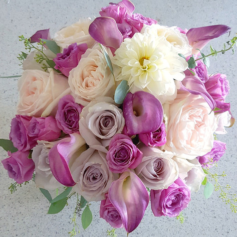 Lavender colors flowers