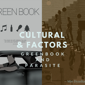 Influential Factors & Cultural Perspectives on Oscar-winning films: Parasite and Green Book 📼