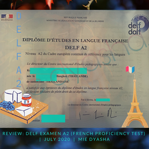 🇫🇷Review: DELF Examen A2 (French Proficiency Test)📝