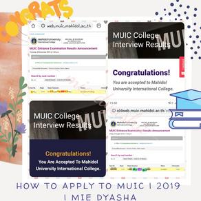 How to apply to MUIC (Mahidol University International College) & FAQ 🇹🇭