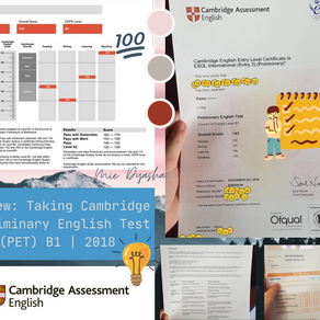 Review: Cambridge Preliminary English Test (CEFR B1) by Mie Dyasha