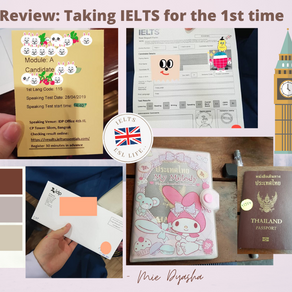Review: Taking IELTS for the 1st  time 👀