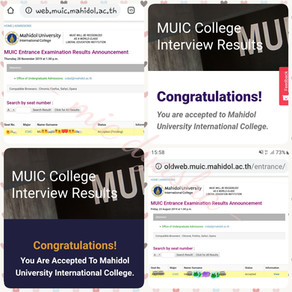 How to apply to MUIC (Mahidol University International College) & FAQ 🇹🇭