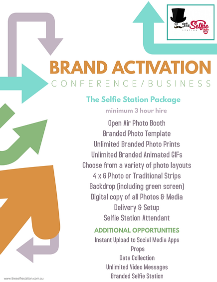 The Selfie Station Brand Activation Pack