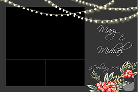 Wedding Photo Booth Photo Template