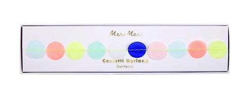 Multicolor Confetti Garland