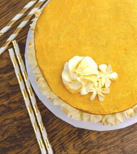 Golden Luster Cake