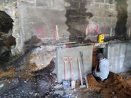 underpinning in Poole for Subsidence.JPG