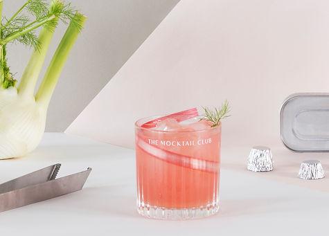Rhubarb & fennel mocktai
