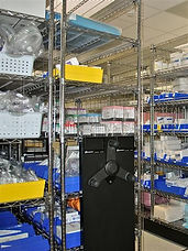 Cleanroom Wire Shelving