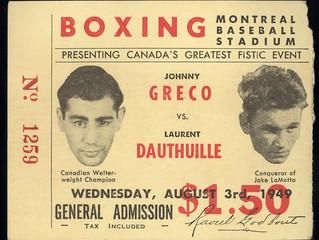 Johnny Greco et Laurent Dauthuille : deux idoles montréalaises, deux destins tragiques