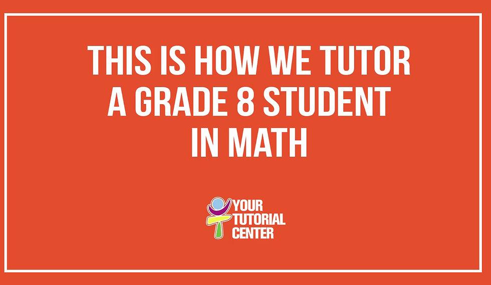 Grade 8 Polynomials