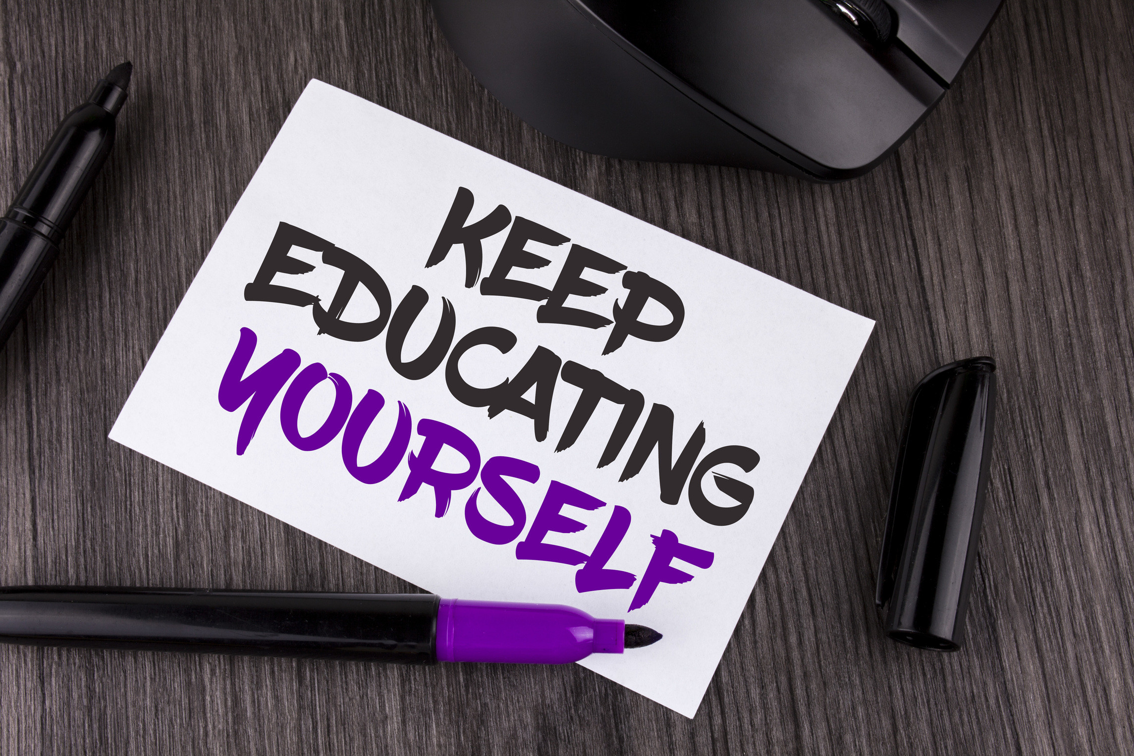 Keep Educating Yourself (Original)