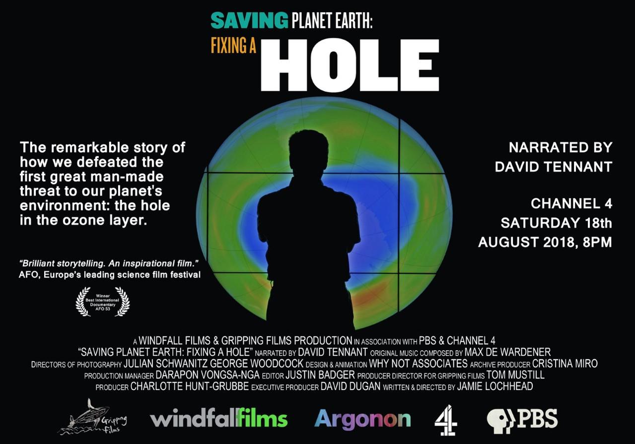 SAVING PLANET EARTH: FIXING A HOLE