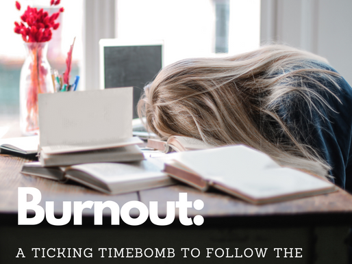 Burnout: a ticking timebomb to follow the pandemic?