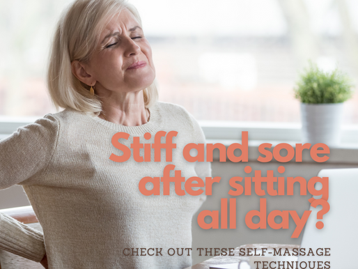 Stiff and sore after sitting all day: what can I do about it?