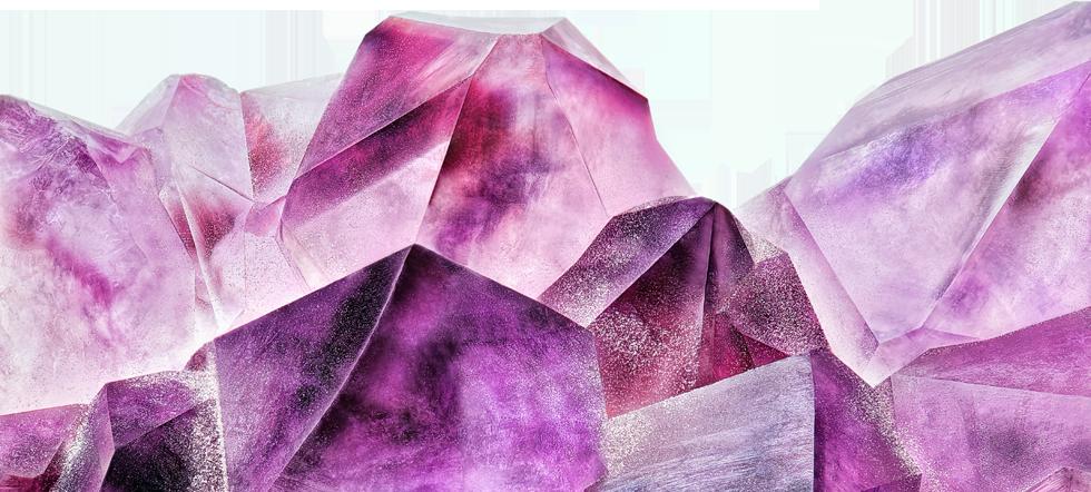 Pink quartz roller