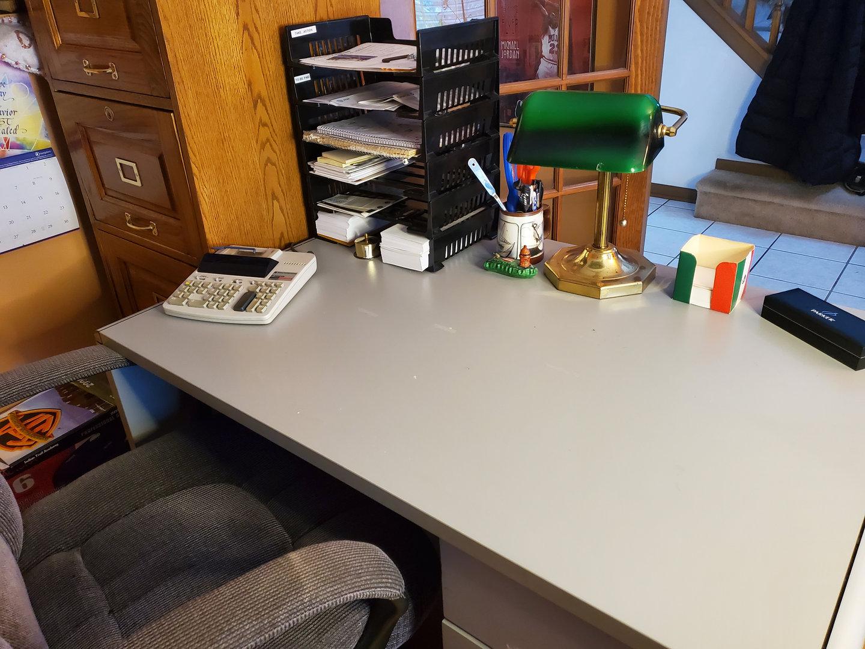 Desk Declutter