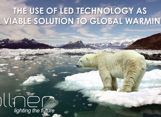 THE USE OF LED TECHNOLOGY AS A VIABLE SOLUTION TO GLOBAL WARMING