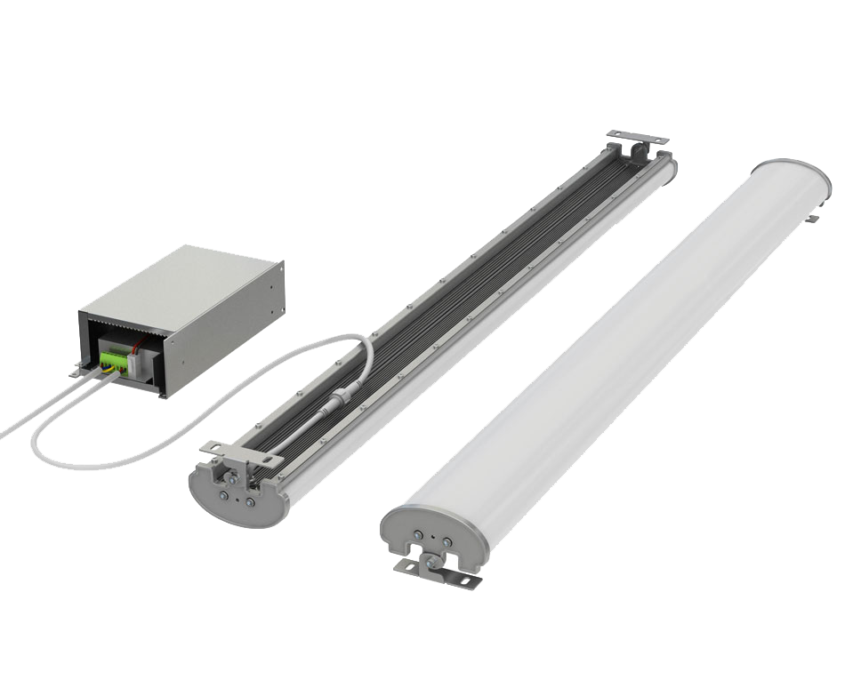 LED Quattro Linear Emergency Light