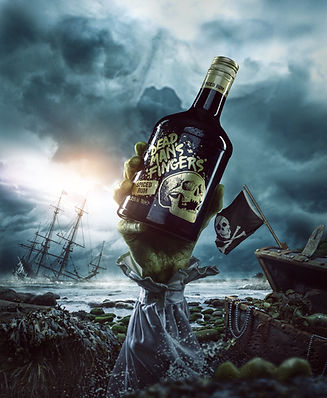 Dead Mans Fingers advertisng & brand artwork
