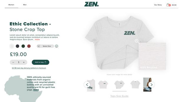 Zen Yoga Branding - Rebel North Creative