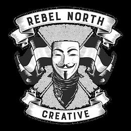 t-shirt design REBEL NORTH CREATIVE blac