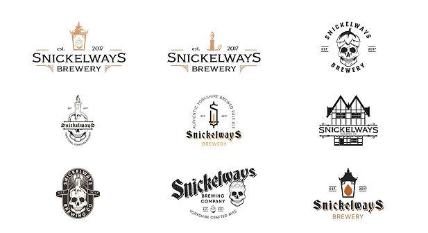 Snickleways logos rebel north creative