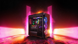 Alpha Sync Gaming PC branding and Advert