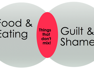 Are You Dining With Guilt and Shame?