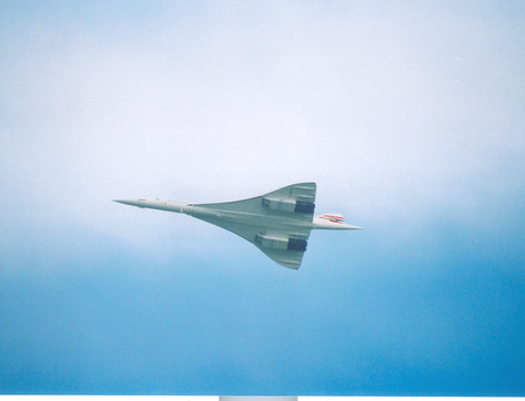 Last flight of Concorde  Dec 2003