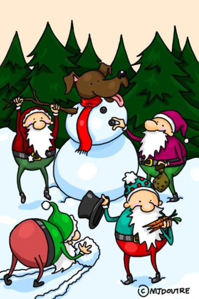Carte de Noël - Mika