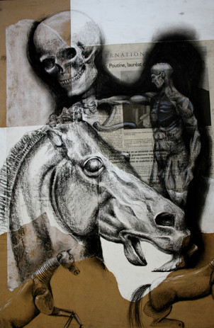 Horse and skull - 2013