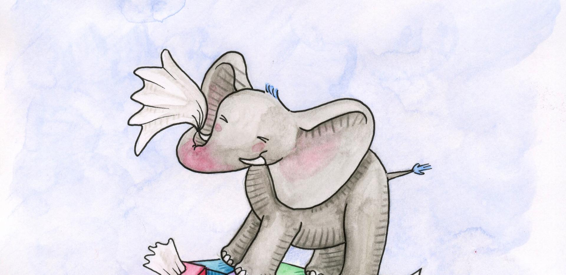 L'éléphant qui avait toujours le nez bouché