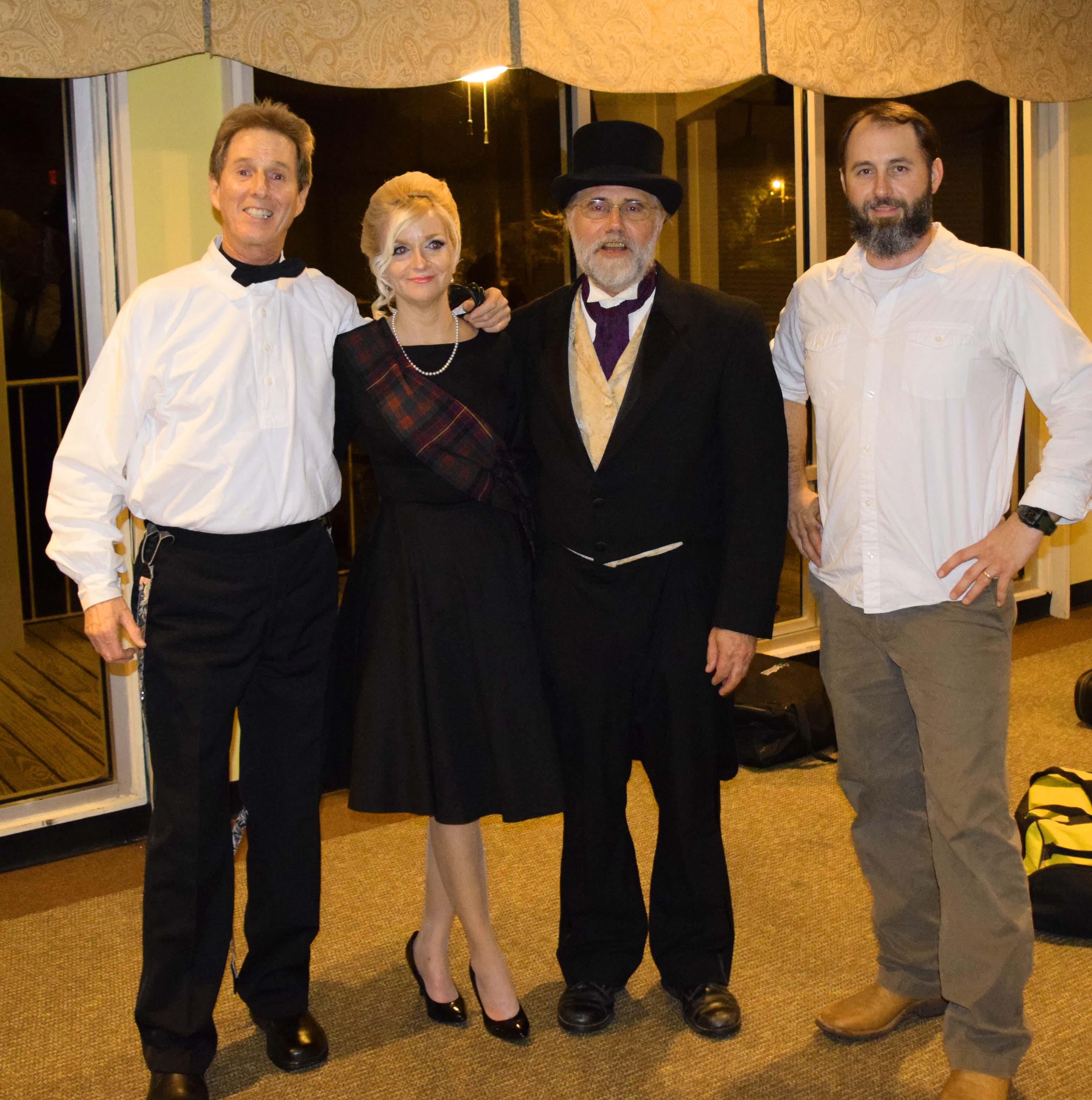 Gordon, Shelia, Frank, and Forrest