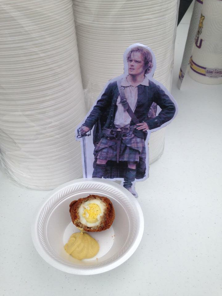 Jamie and Scotch Egg