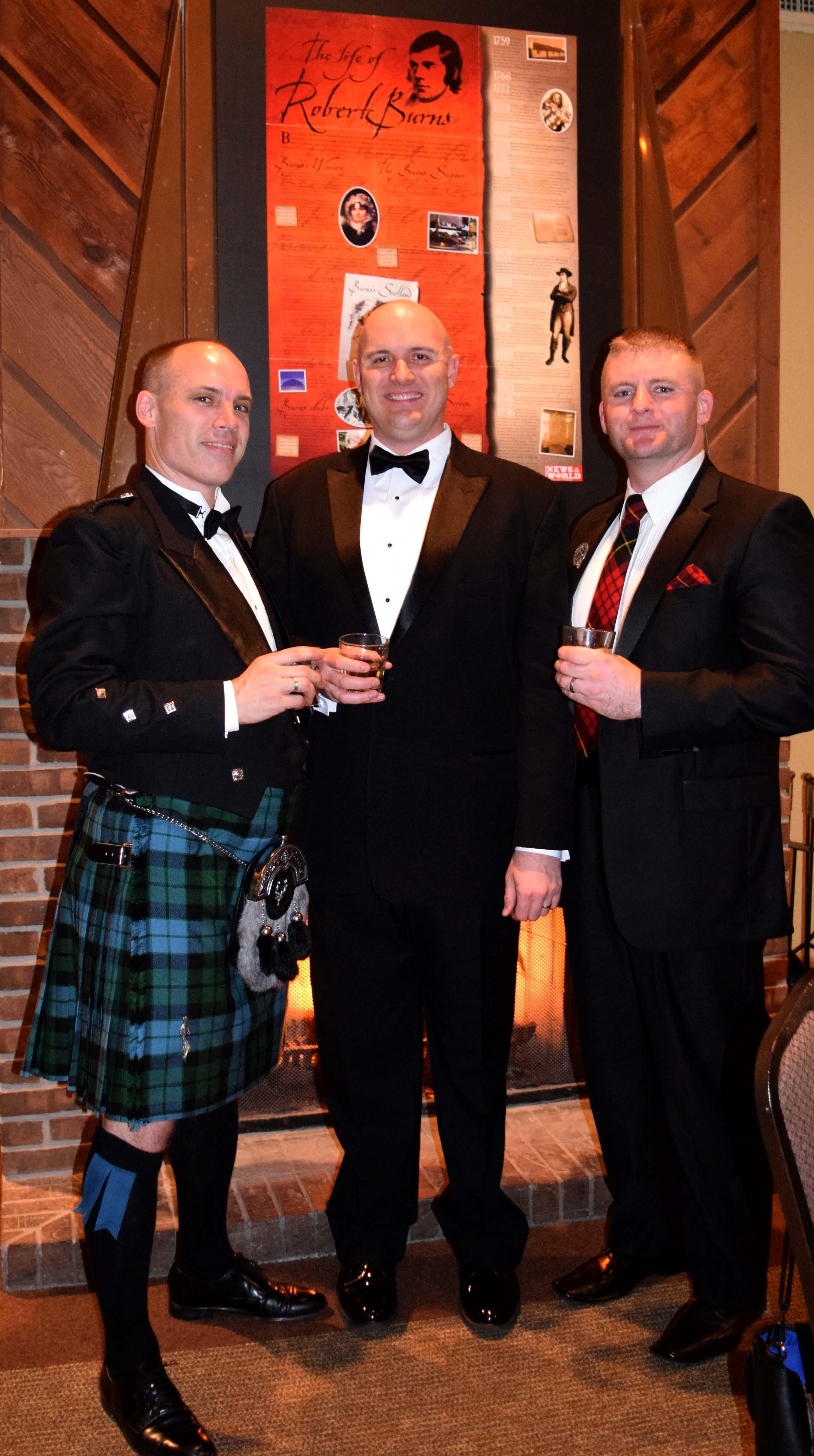 Glen Shilland, Tom Morgan & Brandon McSwain