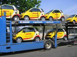 car wrapping für DHL