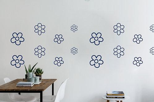 Flores de línea