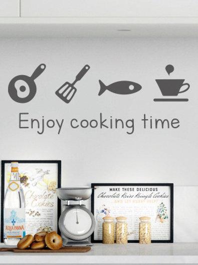 Enjoy cooking time
