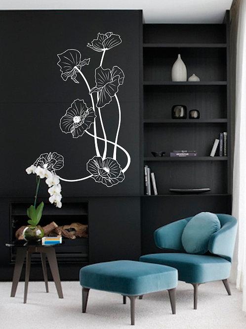 Flores Art Nouveau