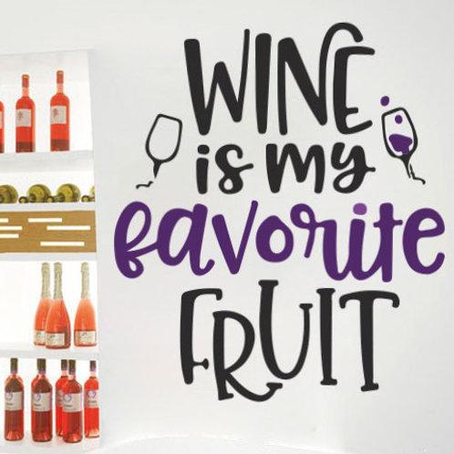 Fruta favorita: vino