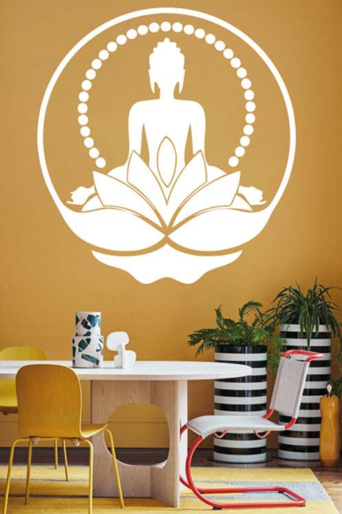 Buda entre flores y perlas