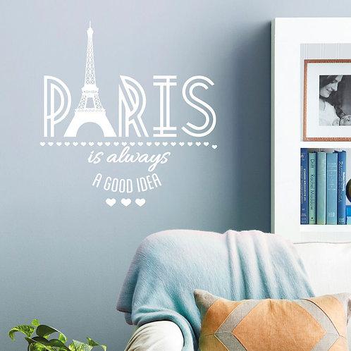 Paris, the best idea