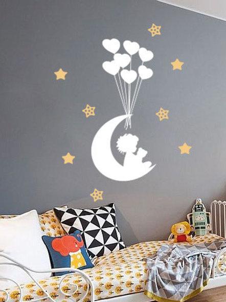 Bebé y estrellas
