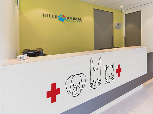 Animalitos al veterinario