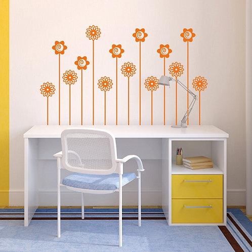 Flores tallo largo