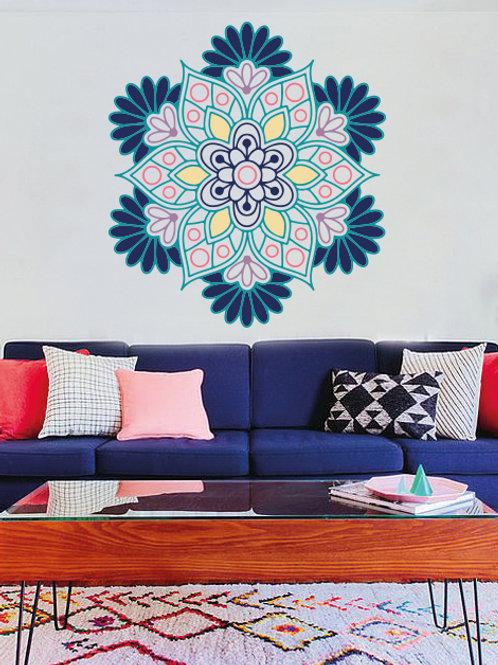 Colorful mandala VI